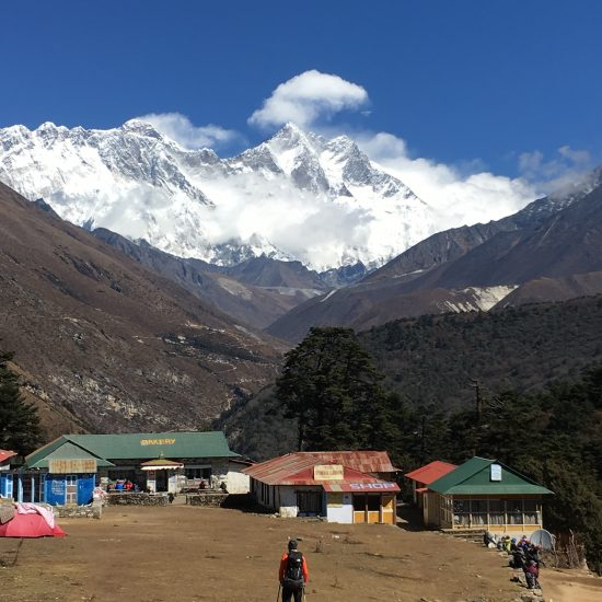 View from Tengpoche
